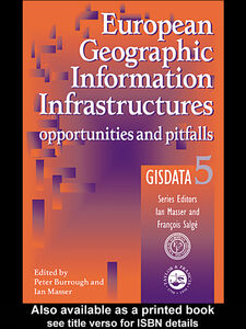 Ebook in inglese European Geographic Information Infrastructures