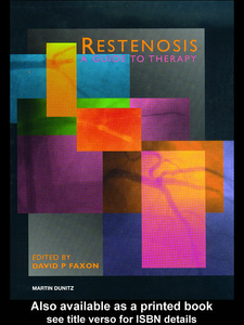 Ebook in inglese Restenosis Faxon MD, David P