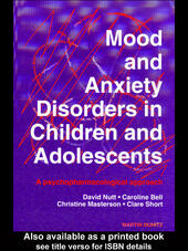 Mood and Anxiety Disorders in Children and Adolescents