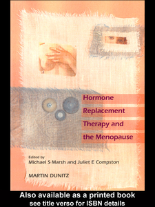 Ebook in inglese HRT and the Menopause