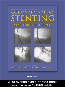 Ebook in inglese Coronary Artery Stenting Curzen, Nick , Rothman, Martin T