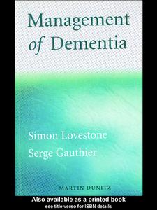 Ebook in inglese Management of Dementia Gauthier, Serge , Lovestone, Simon