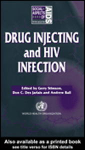 Ebook in inglese Drug Injecting and HIV Infection