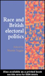 Ebook in inglese Race And British Electoral Politics