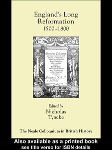 Foto Cover di England's Long Reformation, Ebook inglese di Nicholas Tyacke, edito da