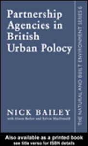 Ebook in inglese Partnership Agencies In British Urban Policy