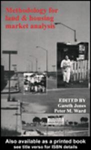 Foto Cover di Methodology For Land And Housing Market Analysis, Ebook inglese di  edito da