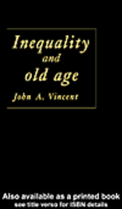 Ebook in inglese Inequality And Old Age