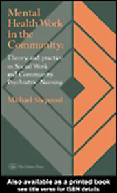Mental Health Work In The Community
