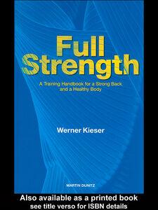Foto Cover di Full Strength, Ebook inglese di Werner Kieser, edito da
