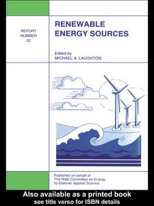 Ebook in inglese Renewable Energy Sources