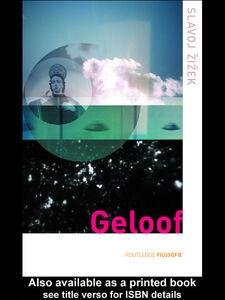 Ebook in inglese Geloof Zizek, Slavoj