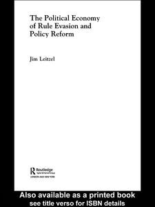 Ebook in inglese The Political Economy of Rule Evasion and Policy Reform Leitzel, Jim