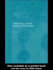 Ebook in inglese Financing China's Rural Enterprises Li, Jun
