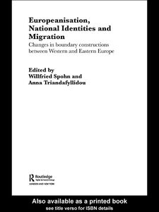 Ebook in inglese Europeanisation, National Identities and Migration