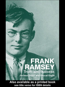 Foto Cover di Frank Ramsey, Ebook inglese di Jérôme Dokic,Pascal Engel, edito da