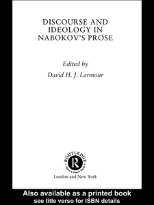 Ebook in inglese Discourse and Ideology in Nabokov's Prose