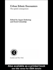 Foto Cover di Urban Ethnic Encounters, Ebook inglese di Aygen Erdentug,Freek Colombijn, edito da