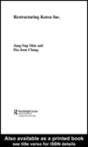 Foto Cover di Restructuring 'Korea Inc.', Ebook inglese di Ha-Joon Chang,Jang-Sup Shin, edito da