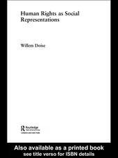 Human Rights as Social Representations