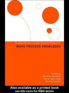 Ebook in inglese Work Process Knowledge Boreham, Nicholas , Fischer, Martin , Samurçay, Renan