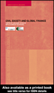 Ebook in inglese Civil Society and Global Finance