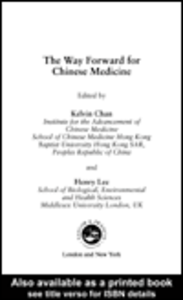 Ebook in inglese The Way Forward for Chinese Medicine