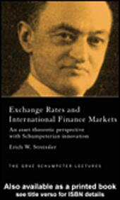 Exchange Rates and International Finance Markets