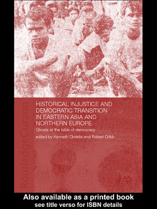 Ebook in inglese Historical Injustice and Democratic Transition in Eastern Asia and Northern Europe