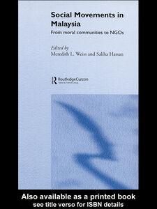 Ebook in inglese Social Movements in Malaysia