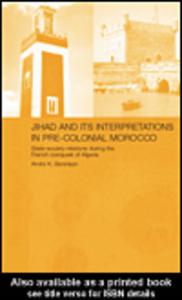 Ebook in inglese Jihad and its Interpretation in Pre-Colonial Morocco Bennison, Amira K.
