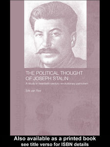 Foto Cover di The Political Thought of Joseph Stalin, Ebook inglese di Erik van Ree, edito da