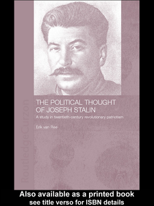 Ebook in inglese The Political Thought of Joseph Stalin Ree, Erik van