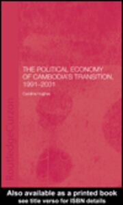 Ebook in inglese The Political Economy of the Cambodian Transition Hughes, Caroline