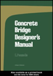 Foto Cover di Concrete Bridge Designer's Manual, Ebook inglese di E. Pennells, edito da