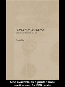 Ebook in inglese Hong Kong Cinema Chu, Yingchi