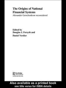 Foto Cover di The Origins of National Financial Systems, Ebook inglese di Daniel Verdier,Douglas J. Forsyth, edito da