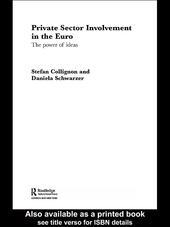 Private Sector Involvement in the Euro