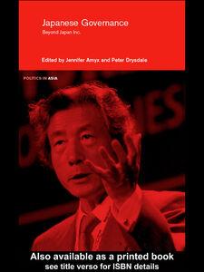 Foto Cover di Japanese Governance, Ebook inglese di Jennifer Amyx,Peter Drysdale, edito da
