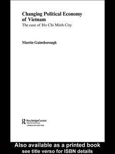 Foto Cover di Changing Political Economy of Vietnam, Ebook inglese di Martin Gainsborough, edito da
