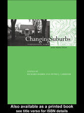 Changing Suburbs