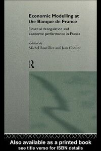 Ebook in inglese Economic Modelling at the Banque de France -, -