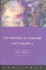 Foto Cover di Language and Linguistics: The Key Concepts, Ebook inglese di R.L. Trask, edito da