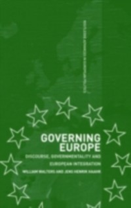 Ebook in inglese Governing Europe Haahr, Jens Henrik , Walters, William