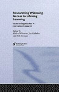 Foto Cover di Researching Widening Access to Lifelong Learning, Ebook inglese di  edito da Taylor and Francis