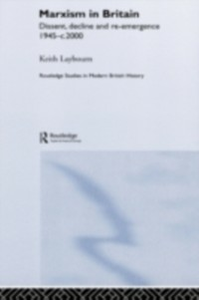 Ebook in inglese Marxism in Britain Laybourn, Keith