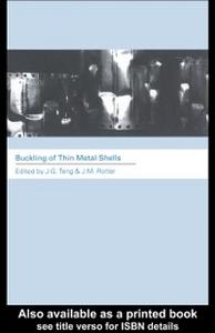 Ebook in inglese Buckling of Thin Metal Shells -, -