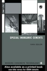 Ebook in inglese Special Inorganic Cements Odler, Ivan
