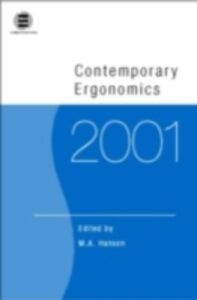 Ebook in inglese Contemporary Ergonomics 2001
