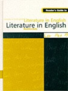 Foto Cover di Reader's Guide to Literature in English, Ebook inglese di  edito da Taylor and Francis